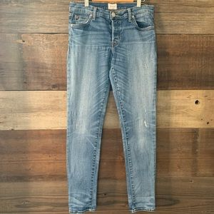 Hudson Riley Relaxed Straight Leg Jeans Size 25